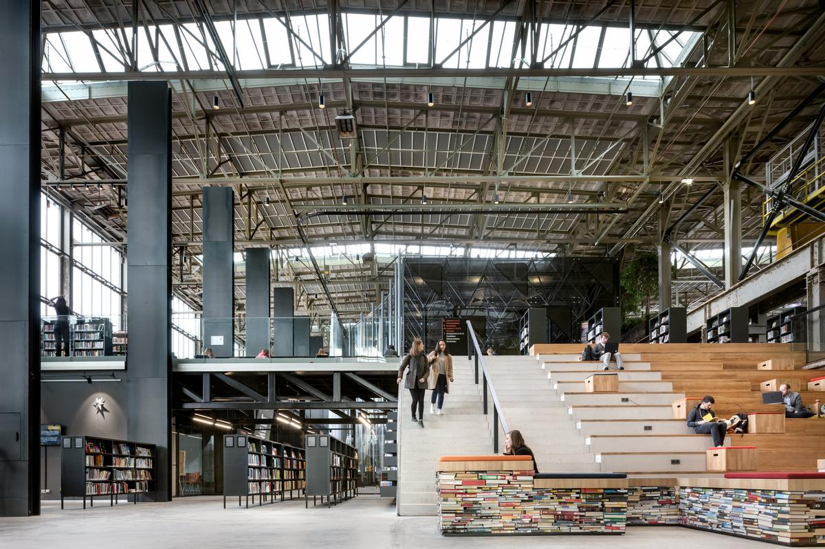 LocHal Public Library has won Building of the Year at the World Architecture Awards 2019